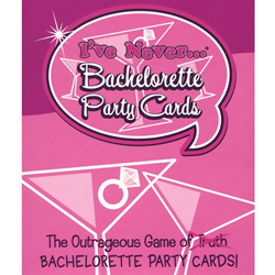 I have Never Bachelorette Party Cards