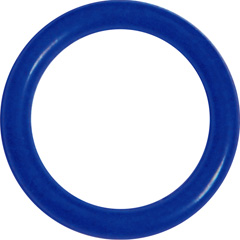 OptiSex Super Silicone Erection Control Cock Ring, Small (31mm), Blue