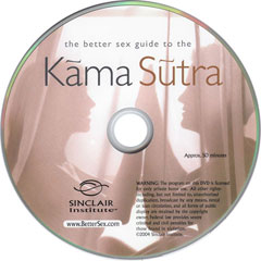 Kama Sutra Educational Erotic DVD for Lovers