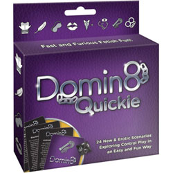 Domin8 Quickie Erotic Game for Bondage and Fetish Lovers