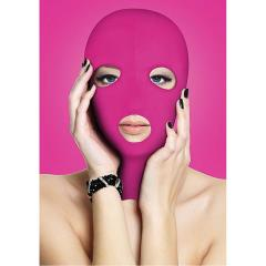 Ouch! Subversion Mask for Naughty Pleasure, One Size, Kinky Pink