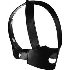 XR Brands Master Series Face Fuk II Dildo Face Harness, Black