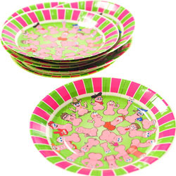 Wild Willy`s Party Plates