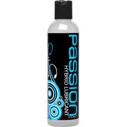 Passion Hybrid Water and Silicone Blend Lubricant, 8 fl. oz.