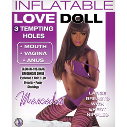 Inflatable Love Doll Mercedes, Brown