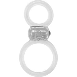 Screaming O Ofinity Plus Vibrating Cockring, Clear