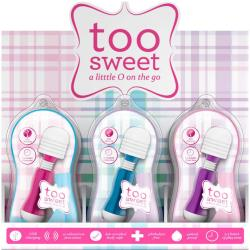 Vive Too Sweet PDQ Display of 12 Piece Wands, Assorted