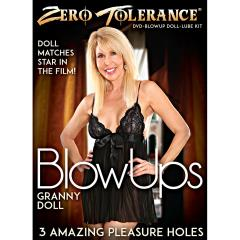 Zero Tolerance Granny Blow Up Doll with DVD