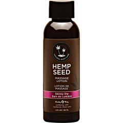 Skinny Dip Hemp Seed Massage Lotion, 2 Fl.Oz (60 mL)