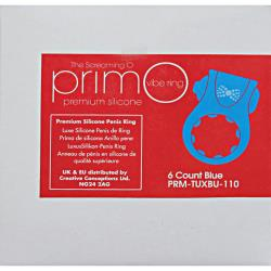 Screaming O PrimO Line Tux Rings 6 Count Box Blue
